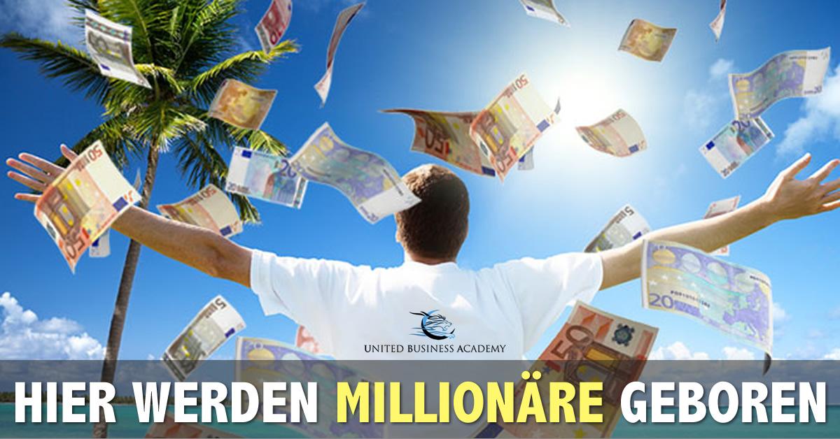 United Business Academy - Hier werden Millionäre geboren