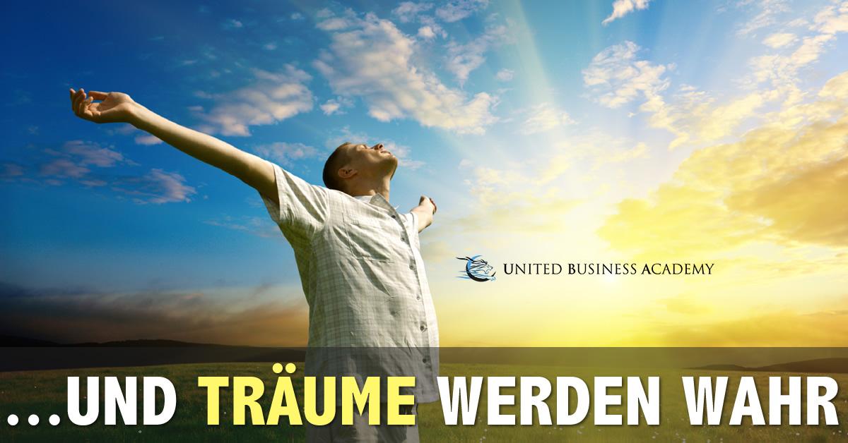 United Business Academy - und Träume werden wahr