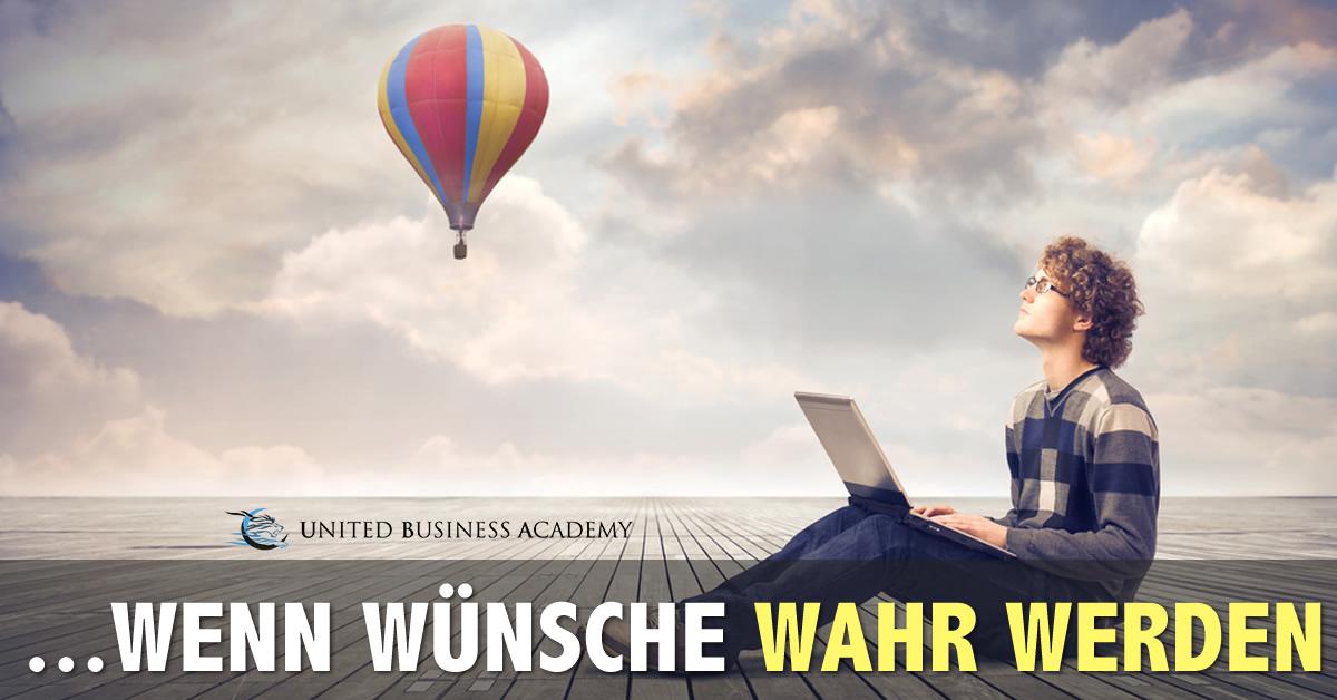 United Business Academy - wenn Wünsche wahr werden