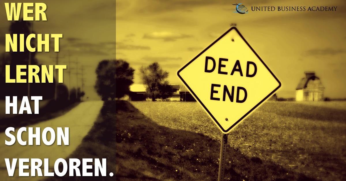 United Business Academy - Wer nicht lernt hat schon verloren