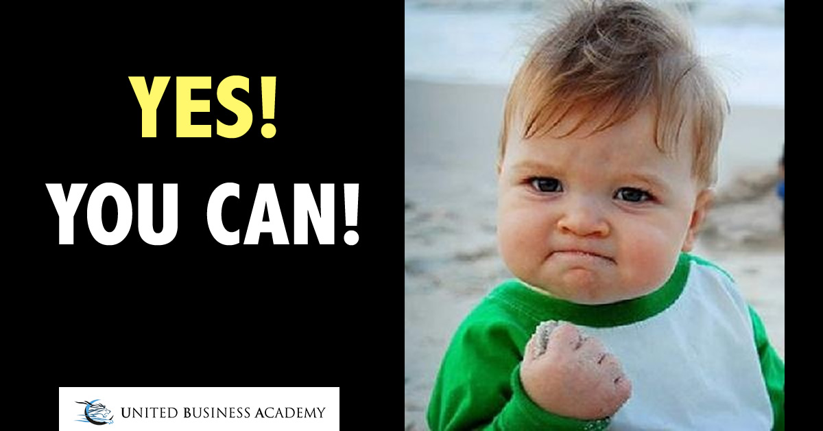 United Business Academy - yes you can!